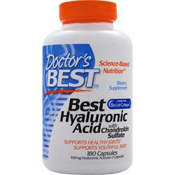DOCTOR'S BEST Best Hyaluronic Acid with Chondroitin Sulfate 180 caps