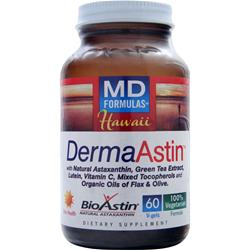 NUTREX HAWAII MD Formulas - DermaAstin 60 vcaps
