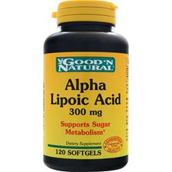 Good 'N Natural Alpha Lipoic Acid (300mg) 120 sgels