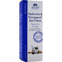 DERMA-E Hyaluronic & Pycnogenol Eye Creme .5 oz