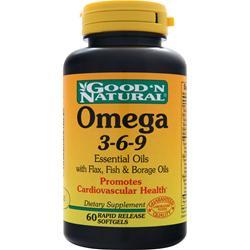 GOOD 'N NATURAL Omega 3-6-9 60 sgels