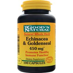 GOOD 'N NATURAL Echinacea & Goldenseal (450mg) 100 caps