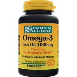 GOOD 'N NATURAL Omega-3 (1000mg) 100 sgels