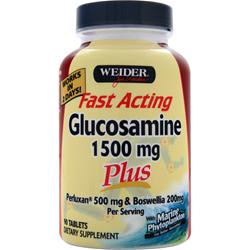 WEIDER Fast Acting Glucosamine Plus (1500mg) 90 tabs