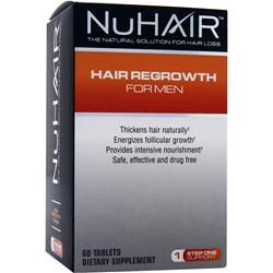 NU HAIR Hair Regrowth for Men 60 tabs