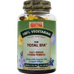 HEALTH FROM THE SUN 100% Vegetarian The Total EFA 90 sgels