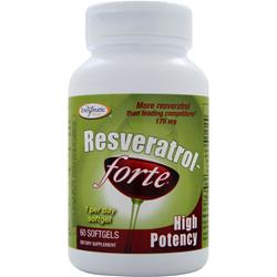 ENZYMATIC THERAPY Resveratrol-Forte - High Potency 60 sgels