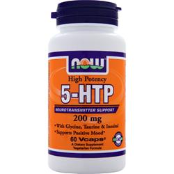 Now 5-HTP (200mg) 60 vcaps