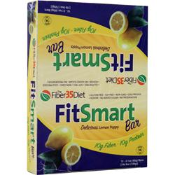 RENEW LIFE FitSmart Bar Lemon Poppy 12 bars