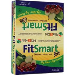 RENEW LIFE FitSmart Bar Cranberry Apple 12 bars