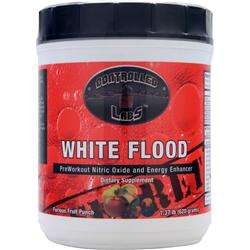 CONTROLLED LABS White Flood Powder Furious Fruit Punch 1.66 lbs