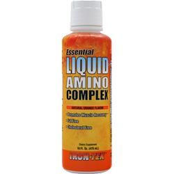 IRON-TEK Essential Liquid Amino Complex Natural Orange 16 fl.oz