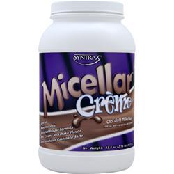 Syntrax Micellar Creme Chocolate Milkshake 2.1 lbs