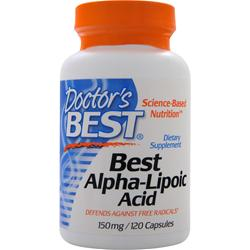 DOCTOR'S BEST Best Alpha-Lipoic Acid (150mg) 120 caps