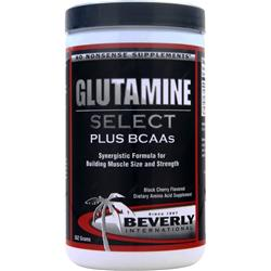 BEVERLY INTERNATIONAL Glutamine Select Black Cherry 552 grams