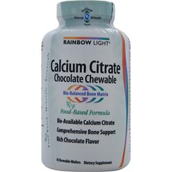 RAINBOW LIGHT Calcium Citrate Chocolate Chewable 45 wafrs