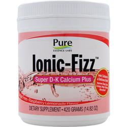 PURE ESSENCE LABS Ionic-Fizz Super D-K Calcium Plus Raspberry Lemonade 420 grams