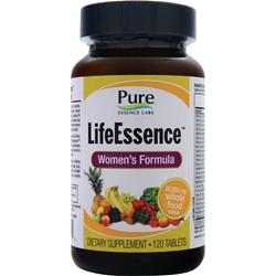 PURE ESSENCE LABS LifeEssence - Women's Formula 120 tabs
