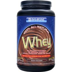 MRM 100% All Natural Whey Dutch Chocolate 2.02 lbs