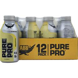 American Bodybuilding Pure Pro Shake RTD Vanilla Smoothie 12 cans