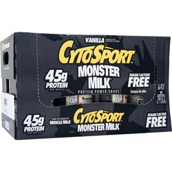 CYTOSPORT Monster Milk RTD Vanilla 12 bttls