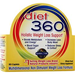 GARDEN OF LIFE Diet 360 90 caps