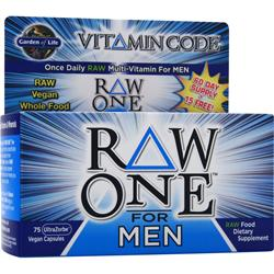 GARDEN OF LIFE Vitamin Code - Raw One for Men 75 vcaps