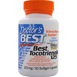 DOCTOR'S BEST Best Tocotrienols 125 30 sgels