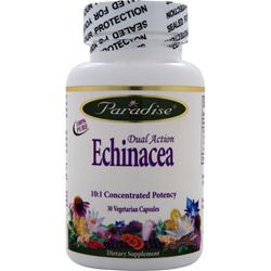 Paradise Herbs Dual Action Echinacea 30 vcaps