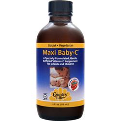 Country Life Maxi Baby-C (Liquid) 4 fl.oz
