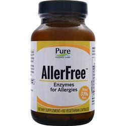 PURE ESSENCE LABS AllerFree - Enzymes for Allergies 60 vcaps