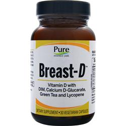 Pure Essence Labs Breast-D 30 vcaps