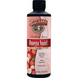BARLEAN'S Omega Swirl Flax Oil Strawberry Banana 16 fl.oz