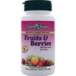 GREEN FOODS Fruits & Berries 60 tabs
