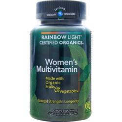 RAINBOW LIGHT Certified Organics - Women's Multivitamin 120 vcaps