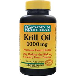 Good 'N Natural Krill Oil (1000mg) 60 sgels