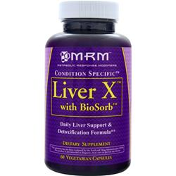MRM Liver X with BioSorb 60 vcaps