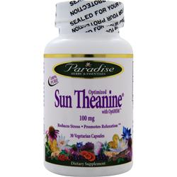 PARADISE HERBS Sun Theanine with OptiMSM (100mg) 30 vcaps