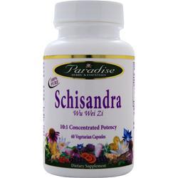 Paradise Herbs Schisandra 60 vcaps