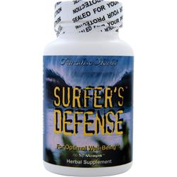 PARADISE HERBS Surfer's Defense 60 vcaps