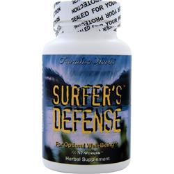 Paradise Herbs Surfer's Defense 60 vcaps