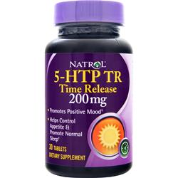 NATROL 5-HTP TR - Time Release (200mg) 30 tabs