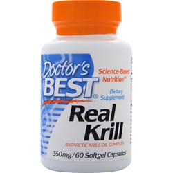 Doctor's Best Real Krill (350mg) 60 sgels