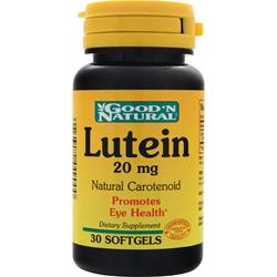 Good 'N Natural Lutein (20mg) 30 sgels
