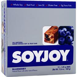 SOY JOY Soy Joy Bar Blueberry 12 bars
