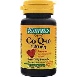 Good 'N Natural Co Q-10 (120mg) 60 sgels