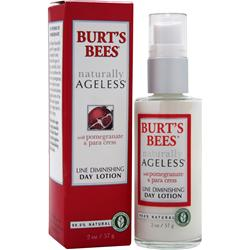 Burt's Bees Naturally Ageless Day Lotion Pomegranate & Para Cress 2 oz
