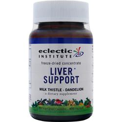 Eclectic Institute Freeze-Dried Concentrate Liver Support 45 vcaps