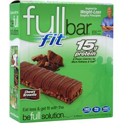 Full Bar Fit Bar Chewy Brownie 6 bars