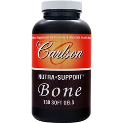 CARLSON Nutra-Support Bone 180 sgels
